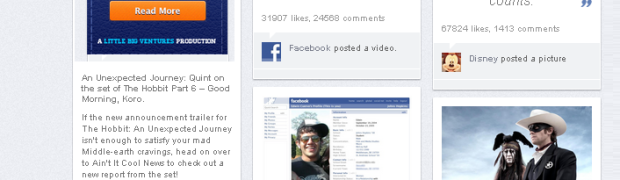 Convert your Facebook into a Pinterest Timeline