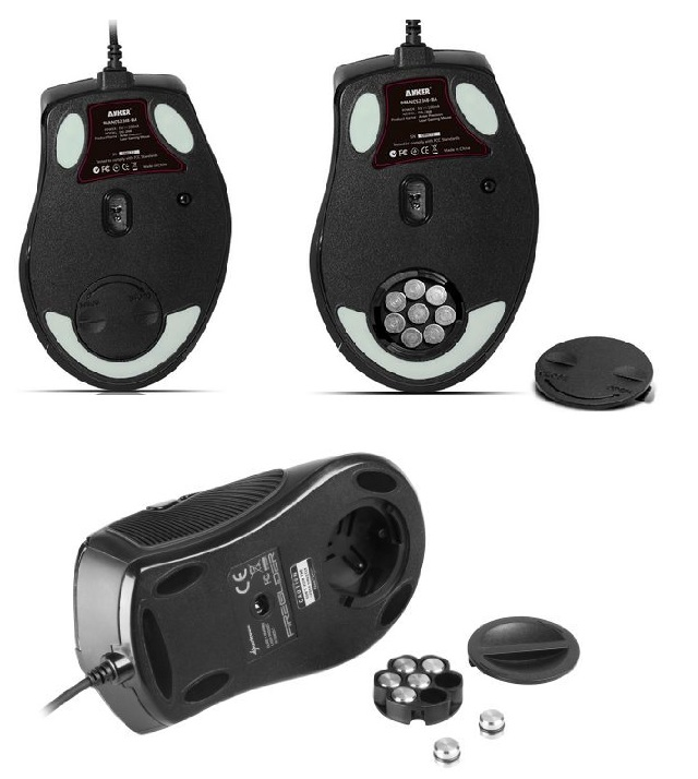 Anker Precision Laser Mouse ADJUST the weight instructions